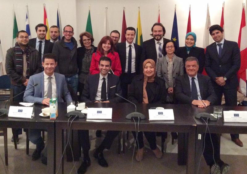 Le Parlement européen à la rencontre de Jeunes Leaders Tunisiens