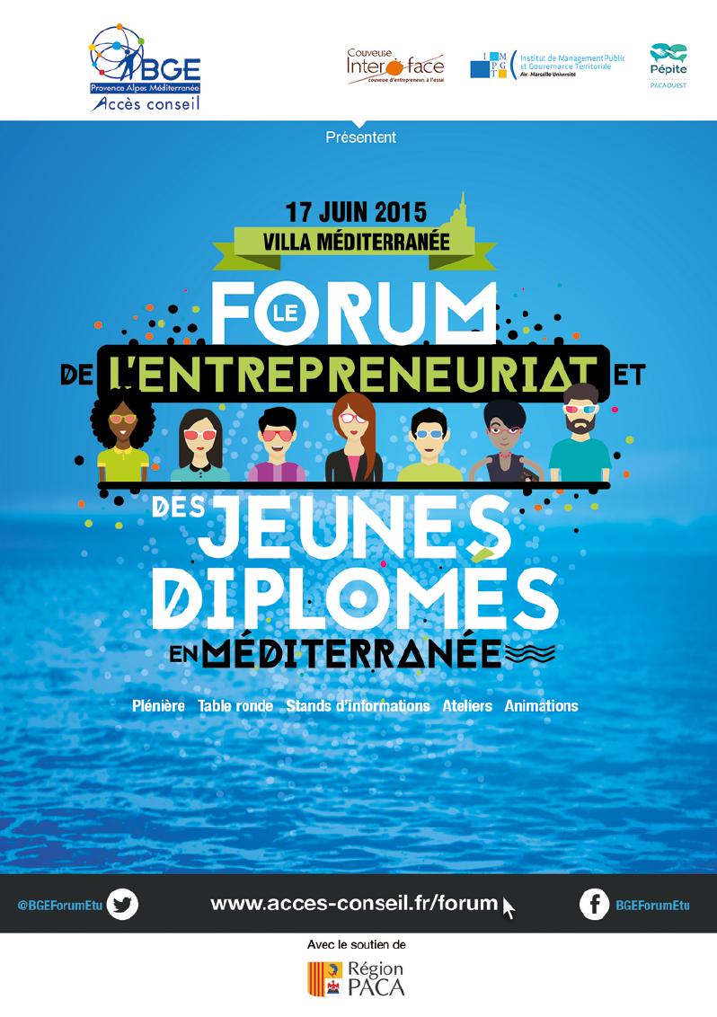 Forum de l'entrepreneuriat et des jeunes diplômés en Méditerranée