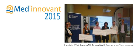 Participez à la 4ème édition du concours Med'innovant